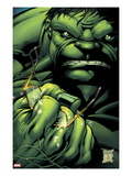 Incredible Hulks No.635 Cover: Hulk Crushing Glasses Póster por Paul Pelletier