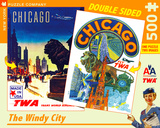 Chicago - 500 Piece Double Sided Puzzle 500 piece Double Sided Puzzle Jigsaw Puzzle