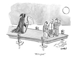 """We're good."" - New Yorker Cartoon Premium Giclee Print by Robert Leighton"