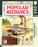 The Steamboat 500 piece Puzzle Puzzle