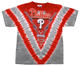 Youth: Phillies V-Dye T-shirts