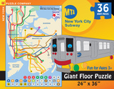 New York City Subway For Kids 36 piece Kids Floor Puzzle Jigsaw Puzzle
