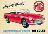 Mgb Tin Sign