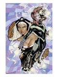 Uncanny X-Men No.528 Cover: Hope Summers and Storm Flying Art by Terry Dodson