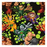 Marvel Super Hero Squad: Juggernaut, Mole Man, Loki, M.O.D.O.K, Dr. Doom, and Absorbing Man Posing Posters