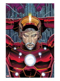 Avengers No.4 Cover: Iron Man Posters av John Romita Jr.