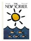The New Yorker Cover - June 10, 1972 Giclee-trykk av Donald Reilly