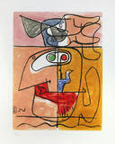Unité, 1965 Kunstdrucke von  Le Corbusier