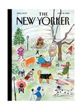 The New Yorker Cover - March 18, 2013 Giclee Print by Maira Kalman