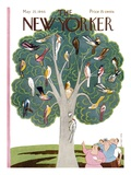 The New Yorker Cover - May 25, 1946 Premium Giclee Print by Rea Irvin