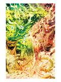 Incredible Hulks No.635: Hulk and Red She-Hulk Screaming and Transforming Prints by Paul Pelletier