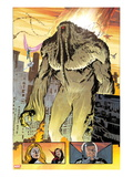 Thunderbolts No.162: Panels with Man-Thing Walking Posters by Valentine De Landro