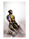 Wolverine No.14 Cover: Wolverine Kneeling Prints by Jae Lee