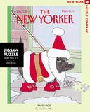 Santa's Dog 500 piece Puzzle Jigsaw Puzzle