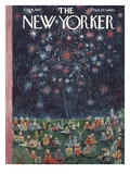 The New Yorker Cover - July 6, 1957 Premium Giclee Print by Ilonka Karasz