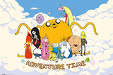 Adventure Time - Cloud Prints
