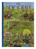 The New Yorker Cover - May 11, 1957 Premium Giclee Print by Ilonka Karasz