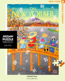 Mount Fuji in Fall 1000 piece Puzzle Puzzle