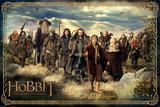 The Hobbit - Cast Plakat
