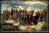 The Hobbit - Cast Lámina