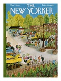 The New Yorker Cover - May 7, 1960 Premium Giclee Print by Ilonka Karasz