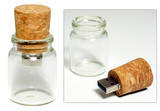 Message in a Bottle 4GB USB Flashdrive Novelty