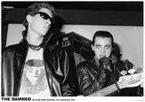 The Damned - 100 Club 1976 Plakát