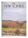 The New Yorker Cover - November 9, 1968 Regular Giclee Print by Albert Hubbell