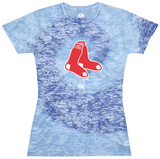 Juniors: MLB: Red Sox Spiral Dye (Burnout) Shirts