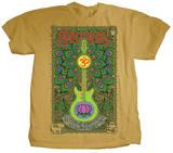 Santana - Lotus Guitar T-Shirts