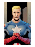 Ultimate Avengers 3 1: Captain America Print by Steve Dillon