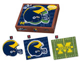 University Of Michigan Wolverines Michigan Puzzle Puzzle
