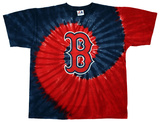 MLB: Red Sox Spiral Dye T-shirts