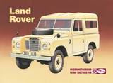 Land Rover Series 3 Cartel de chapa