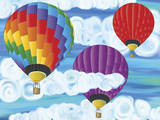 Hot Air Balloons Poster Photo