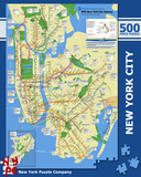 New York City Subway 500 piece Puzzle Jigsaw Puzzle
