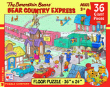 Bear Country Express - 36 Piece Floor Puzzle 36 piece Floor Puzzle Jigsaw Puzzle