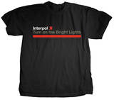Interpol - Bright Lights Shirts
