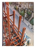 The New Yorker Cover - July 9, 1955 Premium Giclee Print by Arthur Getz