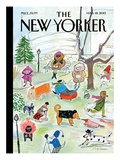 The New Yorker Cover - March 18, 2013 Regular Giclee Print by Maira Kalman