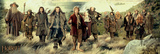 The Hobbit - Company Kunstdrucke