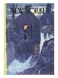 The New Yorker Cover - October 29, 1949 Premium Giclee Print by Rea Irvin