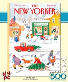 Snow Day 500 piece Puzzle Jigsaw Puzzle