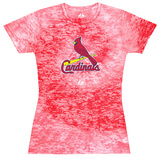 Juniors: Cardinals Spiral (Burnout) Shirt