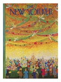 The New Yorker Cover - December 7, 1963 Premium Giclee Print by Ilonka Karasz