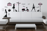 Fashion Street Wall Decal Sticker Wall Decal
