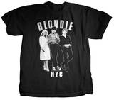Blondie - Against the Wall Camiseta