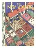 The New Yorker Cover - May 7, 1927 Giclee Print by Ilonka Karasz