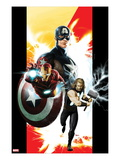 Ultimates 1 Cover: Captain America, Thor, and Iron Man Posters by Kaare Andrews