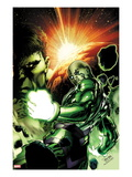 Incredible Hulks 613 Cover: Hiro-Kala and Hulk Standing Prints by Carlo Pagulayan